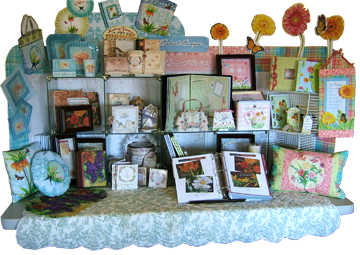 Audrey Jeanne's CHA Designer's Showcase Table