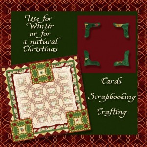 audrey jeanne roberts, quilted stationery, photo corners, digital clip art, scrapbooking, christmas