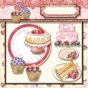 audrey jeanne roberts, audrey jeanne, papers, paper, digital clip art kit, digital crafting and card making kits, chocolate, chocoholic, cupcake, cupcakes, decorated cupcake, decorated cupcakes, cake, wedding cake, decorated cake, cake slice, decorated cake slice, cake plate, tags, recipe word art, recipe card kit, dessert, desserts, dessert digital clip art, recipe card digital clip art kit