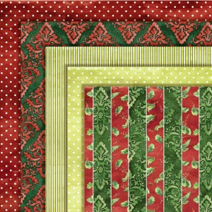 christmas damask, red, green, lime green, digital scrapbooking papers, digital clip art, pinstripe, pin dot, classic Christmas