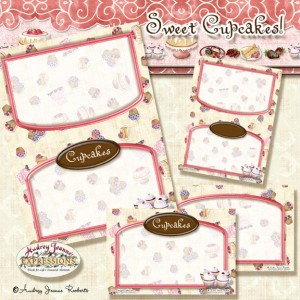 Free Recipe Card, cupcake, cupcakes, chocolate, dessert, desserts, digital clip art kit