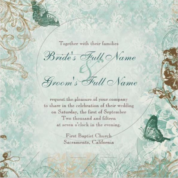 two sided wedding invitations audrey jeanne s expressions